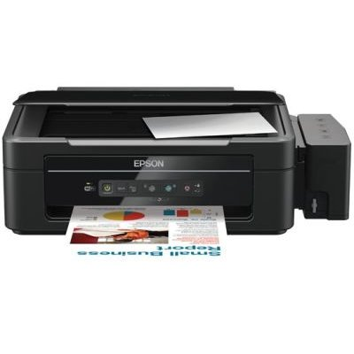 Epson L355 Inkjet 3-in-1 Printer Printer with Refillable Ink Tanks:
