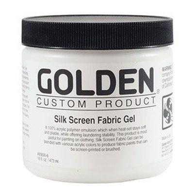 Golden Acrylic Medium - Silk Screen Fabric Gel (473ml):
