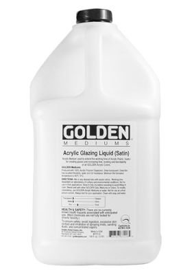 Golden Acrylic Medium - Glazing Liquid Satin (3.78 Litre):