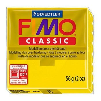 Staedtler Fimo Classic - Golden Yellow (56g):