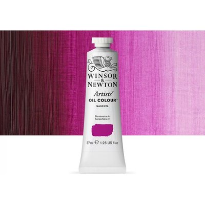 Winsor And Newton Artists Oil Tube - Magenta (37ml):