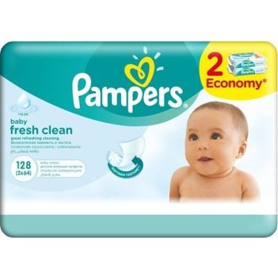 Pampers Baby Wipes Fresh (Economy | 128):