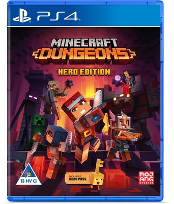 Minecraft Dungeons - Hero Edition (PlayStation 4):