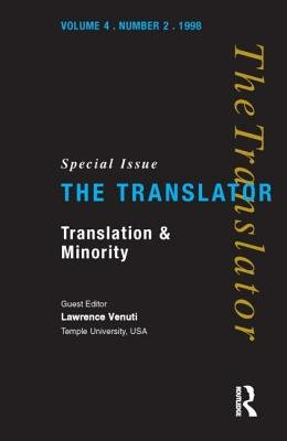 """Translation and Minority - Special Issue of """"the Translator"""" (Paperback): Lawrence Venuti"""