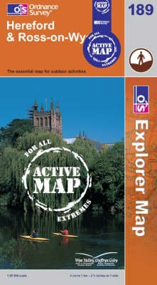 Hereford and Ross-on-Wye (Sheet map, folded): Ordnance Survey