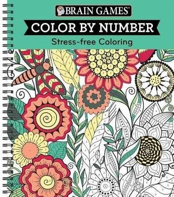 Color by Number Green (Spiral bound): Ltd Publications International