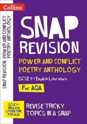 AQA Poetry Anthology Power and Conflict Revision Guide - For the 2020 Autumn & 2021 Summer Exams (Paperback): Collins Gcse