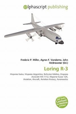 Loring R-3 (Paperback): Frederic P. Miller, Agnes F. Vandome, John McBrewster