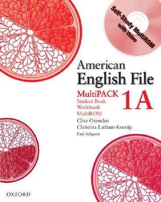 American English File Level 1: Student Book/Workbook Multipack A (Mixed media product): Clive Oxenden, Christina Latham-Koenig,...