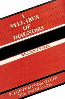 Syllabus of Diagnosis (Paperback): J.Ellis Barker