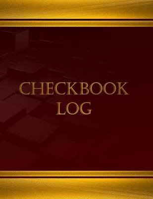 checkbook log journal log book 125 pgs 8 5 x 11 inches