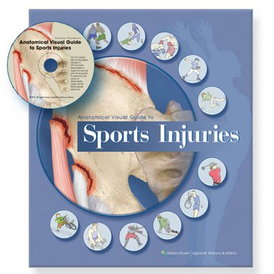 Anatomical Visual Guide to Sports Injuries (Spiral bound): Anatomical Chart Company