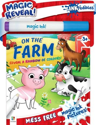 Inkredibles: Magic Ink Pictures On The Farm (Kit): Hinkler Books Hinkler Books
