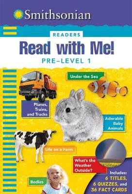 Smithsonian Readers: Read with Me! Pre Level 1 (Paperback): Courtney Acampora, Kaitlyn DiPerna