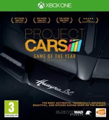 Project Cars - Game of the Year Edition (XBox One, Blu-ray disc):