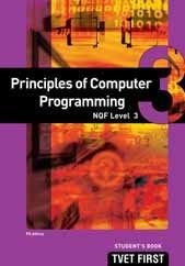 FET first principles of computer programming: NQF level 3