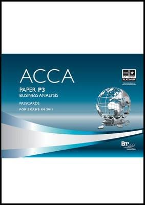 ACCA - P3 Business Analysis, Paper P3 - Passcards (Spiral bound): BPP Learning Media