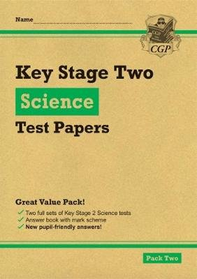 New KS2 Science Tests: Pack 2 (Paperback): CGP Books