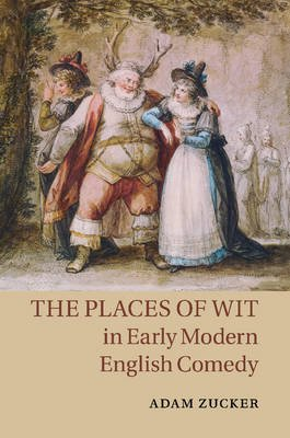 The Places of Wit in Early Modern English Comedy (Paperback): Adam Zucker