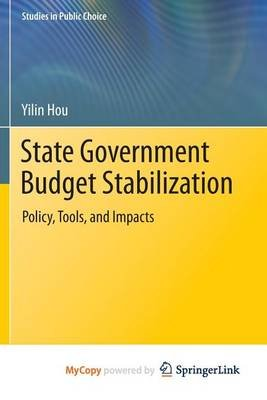 State Government Budget Stabilization (Paperback):