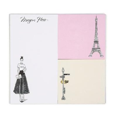 Chic: A Fashion Odyssey - Megan Hess Memo Pad (Notebook / blank book): Megan Hess