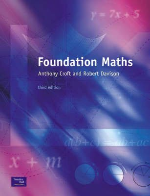 Foundation Maths - WITH Maple 10 VP (Paperback, New edition): Tony Croft