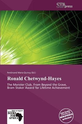 Ronald Chetwynd-Hayes (Paperback): Ferdinand Maria Quincy