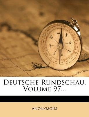 Deutsche Rundschau. (English, German, Paperback): Anonymous