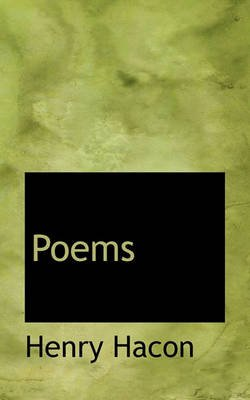 Poems (Paperback): Henry Hacon