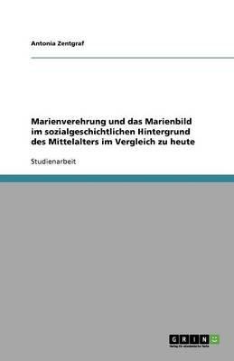 Marienverehrung Und Das Marienbild Im Sozialgeschichtlichen Hintergrund Des Mittelalters Im Vergleich Zu Heute (German,...
