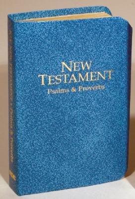 Bible Kjv Key Dlx V/P NT/Ps/Prov Blue (Book): 9780834003040 | Books