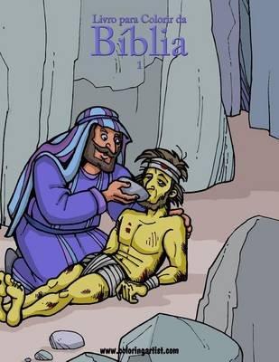 Livro Para Colorir Da Biblia 1 (Portuguese, Paperback): Nick Snels