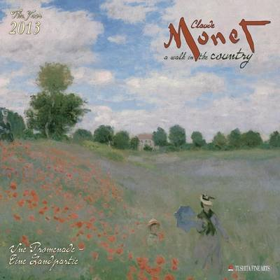 Claude Monet - Promenade 2013 (Calendar):