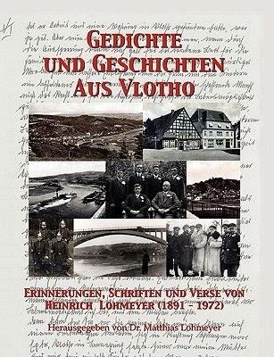 Gedichte Und Geschichten Aus Vlotho (German, Paperback): Matthias Lohmeyer