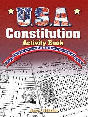 U.S.A. Constitution Activity Book (Paperback): Tony Tallarico