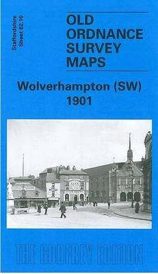 Wolverhampton (South West) 1901 - Staffordshire Sheet 62.10 (Sheet map, folded, Facsimile of 1901 ed): John Boynton