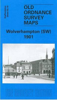 Wolverhampton (South West) 1901 - Staffordshire Sheet 62.10 (Sheet map, folded, Facsimile of 1901 ed): John Boynton