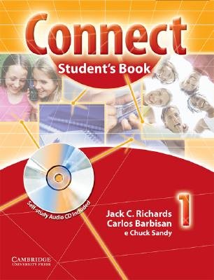Connect Student Book 1 with Self-study Audio CD Portuguese Edition (Paperback): Jack C Richards, Carlos Barbisan, Chuck Sandy