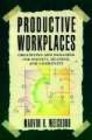 Productive Workplaces -  Organizing and Managing for Dignity, Meaning, and Community (Paperback): Marvin R. Weisbord