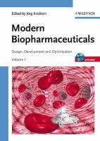 Modern Biopharmaceuticals - Design, Development and Optimization 4 Volume Set (Hardcover, 3): Jorg Knablein