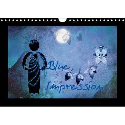 Blue Impression Uk Version 2017 Fantasy Art Fractale