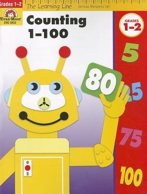 Learning Line Workbooks - Counting 1-100, Grades 1-2 (Staple bound): Evan-Moor Educational Publishers