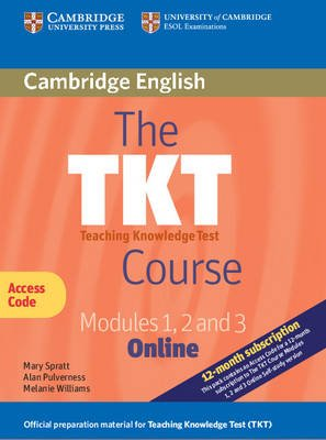 The TKT Course Modules 1, 2 and 3 Online (Trainee Version Access Code Card) (Digital product license key, 2nd Revised edition):...