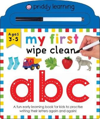 My First Wipe Clean: ABC (Board book): Roger Priddy