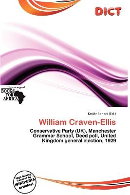 William Craven-Ellis (Paperback): Knutr Benoit