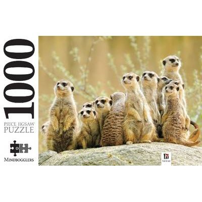 Meerkat Family 1000 Piece Jigsaw (Toy):