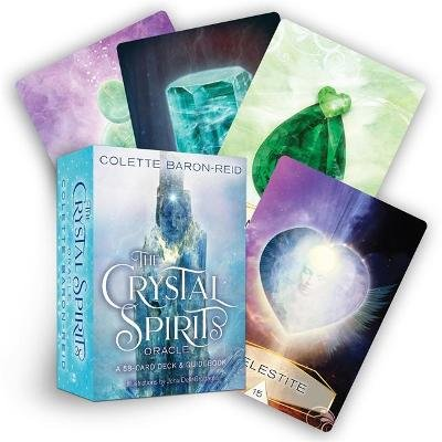 The Crystal Spirits Oracle - A 58-Card Deck and Guidebook (Cards): Colette Baron-Reid