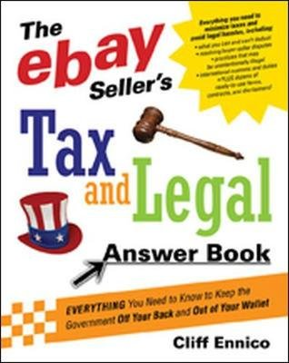 EBAY SELLER'S TAX N LEGAL ANSWER BOOK (Paperback): Cliff Ennico