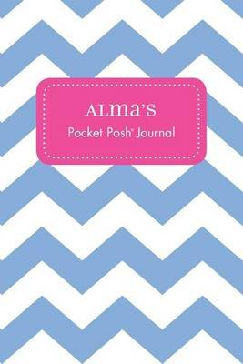 Alma's Pocket Posh Journal, Chevron (Paperback): Andrews McMeel Publishing