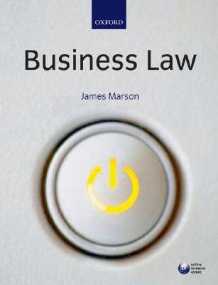 Business Law (Paperback): James Marson